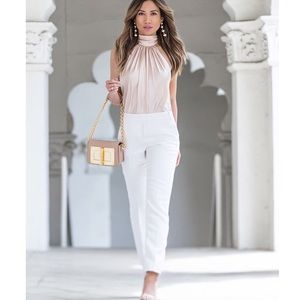 Ramy Brook Pants - {ramy brook} Maria pants in white